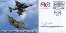 Cc41d DELLA RAF HARRIER FDC FIRMA PILOTA della battaglia della Gran Bretagna ACM SIR Foxley Norris