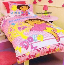 Dora the Explorer Hi Butterfly Single/Twin Bed Quilt Doona Duvet Cover