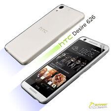 Soft TPU Gel Jelly Rubber Case Cover For HTC Desire 626 + Screen Guard