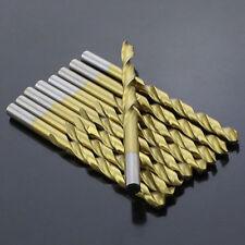 Titanium Plated HSS Super Hard Twist Metal Drill Bits Diameter 1.0mm-3.3mm