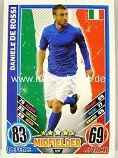 Match Attax Euro EM 2012 - #107 Daniele De Rossi - Italien