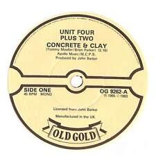 "Unit Four Plus Two - Concrete & Clay   - 7"" Record Single"