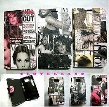 Housse Etui Portefeuille Coque Simili Cuir Magazine Pour Samsung Galaxy S2 I9100