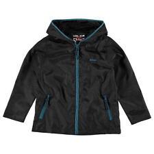 Lee Cooper Boys Black Windbreaker Jacket - BNWT