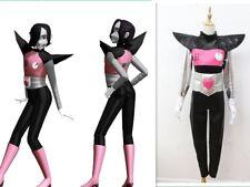 Undertale Mettaton EX Cosplay Costume black with gloves