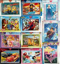 Puzzle Disney / Nickeloden / Minions / Spiderman & andere Motive zur Auswahl