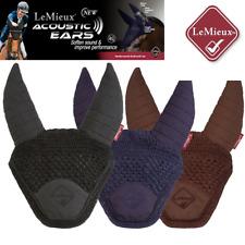 LeMieux Accoustic Ears Noise Reduction Fly Hood/Veil, All Sizes/Colours