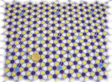 Fiona Zauberstab lila Stretch-Jersey Blaubeerstern 50 cm Meterware