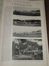 1898 KHARTOUM MEDAL CEREMONY CAMERONS SEAFORTHS LANCER