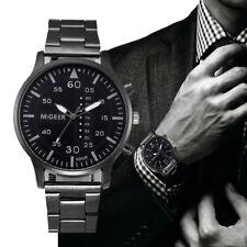 Luxury Men's Business Wrist Watch Stainless Steel Boy Quartz Analog Sports Watch