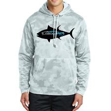 Lobo Performance Gear Yellowfin Tuna CamoHex Performance Hoodie Sweatshirt