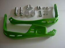 Handprotektoren  Lenkerprotektoren Griffschalen Handschalen Enduro Moto grün !