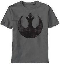 STAR WARS Rebel Alliance LOGO TEE Luke Skywalker FUNNY Han Solo T SHIRT Rebels