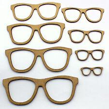 Occhiali / Occhiali da sole Craft forme, Abbellimenti, 2mm mdf legno