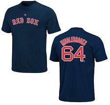 MLB béisbol nombre & number t-shirt Boston Red Sox quiere Middlebrooks #64 Navy