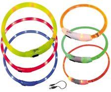Visible Leuchtband LED USB Akku Leuchthalsband Sicherheit Hundehalsband Qualität