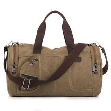 Men's Vintage Canvas duffle Bags Messenger Shoulder Bag Travel bag handbag tote