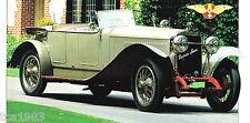 Hispano-Suiza H6B / H6-b SPEC SHEET / Brochure: 1919,1920,1921,