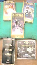 3 VHS Trilogia Guerre Stellari Edizione Speciale '97 Jedi L'impero colpisce