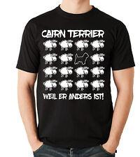 T-Shirt BLACK SHEEP - CAIRN TERRIER   Hunde Fun Men Siviwonder