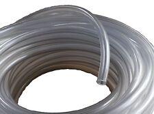 """PVC chiaro SIFONE TUBO alimentare SIGILLATO TUBO TUBO FLESSIBILE 1/4 """"ID 3/8"""" OD Homebrew BIRRA acquatici"""