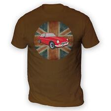 British MGBGT Para Hombres Camiseta-x13 colores-Regalo Presente Británico Reino Unido Coche Clásico