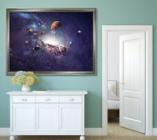 3D Universe Planet 77 Fake Framed Poster Home Decor Print Painting Unique Art