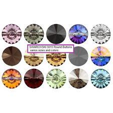 SWAROVSKI Bottoni Sew sul cristallo 3015 Colori pacchetto all'ingrosso tutte le taglie