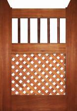 Timber Gates - Dowel & Diagonal Lattice Gate TG28 - All Sizes