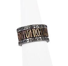 Deus Et Natura (God & Nature) Ring - Alchemy Gothic English Pewter