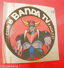 Adesivo sticker vintage GOLDRAKE club la banda dei ragazzi n 6 stickers ADESIVI