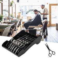 Salon Shears Stand Rack Case Hair Scissor Holder Organizer Storage Tray+2 Sucker
