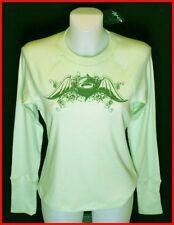 Bnwt Authentic Womens Oakley Transit Pyjama Top Mint Green New