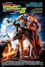 Retour vers le futur 3 1990 toile wall art film movie poster print sc-fi m j fox