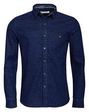 Anerkjendt Sofus camiseta Camisa azul oscuro camisa manga larga Blue manga larga dayshirt Humör