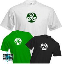 CELTIC SYMBOL- T Shirt, Ireland , Irish , Scotland , Druid , Festival, NEW