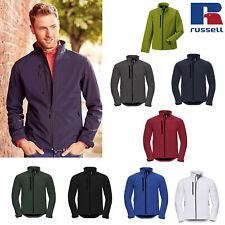 Russell Mens Softshell Warm Jacket R-140M-0 - Winter Wear Water/Windproof Fleece