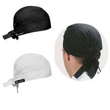 CHEF'S BANDANNA ZANDANA BANDANA HEAD PROTECTIVE CAP KITCHEN THERMO COOL BACK TIE