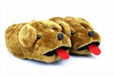 Unisex Novelty Smokey Cheeky Tongue Funny Dog Indoor Slippers