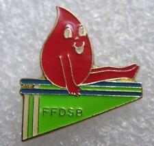 Pin's Sport JO Les Barre Paralléle Don du Sang FFDSB  #F2