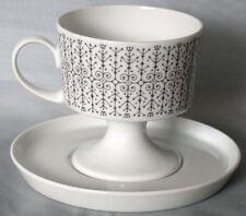 Kaffeetasse 2-teilig Rosenthal Composition Secunda grau