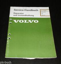 Werkstatthandbuch Volvo Motor B 14 / Reparatur / Instandhaltung ab Baujahr 1976