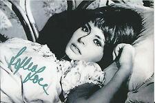 "Sophia Loren Signed 4x6 Photo ""El Cid"" ""Two Women"" ""Houseboat"" Autographed"