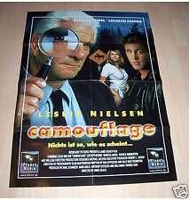 Filmposter A1 Neu Plakat Camouflage - Leslie Nielsen