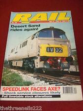 RAIL - DESERT SAND RIDES AGAIN - MAY 31 1990 # 123