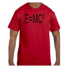 Funny Humor Tshirt Physics E=MC Squared