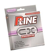 P-LINE CX PREMIUM Clear Fluorescent - 270m -300 yds Spools - FLUOROCARBON