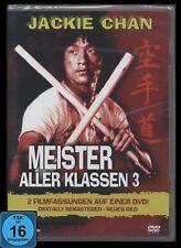 DVD MEISTER ALLER KLASSEN 3 - UNCUT - JACKIE CHAN *NEU*