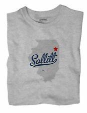 Sollitt Illinois IL Ill T-Shirt MAP