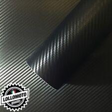 Carbonio 3D Nero Pellicola Adesiva Rivestimento Auto Car Wrapping